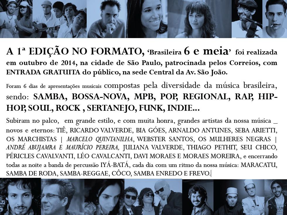 FESTIVAL BRASILEIRA_resumo 1a edicao 2014